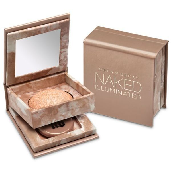 Urban Decay  Travel-Size Naked Illuminated Shimmering Powder For Face... ($12) ❤ liked on Polyvore featuring beauty products, bath & body products, luminous, urban decay and travel size beauty products