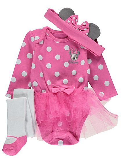 Disney Minnie Mouse Tutu 3 Piece Set, read reviews and buy online at George at ASDA. Shop from our latest range in Baby. Your little Disney fan can look just...