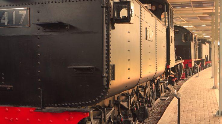 At amabara railway museum