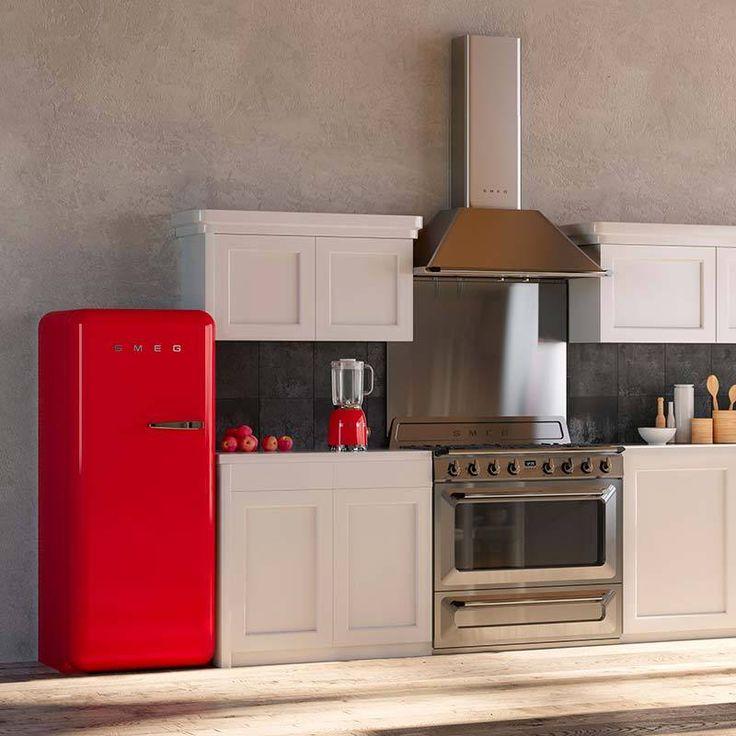 Grazie alle loro linee bombate in stile anni '50 sono diventati vere icone del design italiano nel mondo. Oggi siamo felici di accogliere su Lovli la collezione di frigoriferi firmati Smeg, che...
