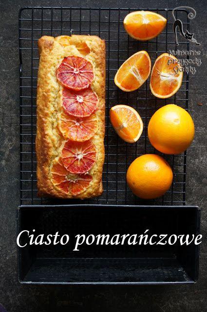 Kulinarne przygody Gatity - przepisy pełne smaku: Szybkie ciasto z czerwonymi pomarańczami