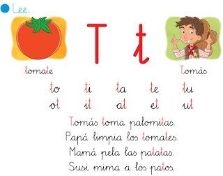 """http://primerodecarlos.blogspot.com.es/2012/10/lectura-interactivca-de-la-letra-t.html   EL BLOG DE PRIMERO: LECTURA INTERACTIVA DE LA LETRA """"T"""""""