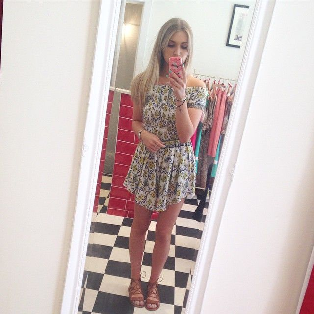 Daisy from Team M&M wearing our floral playsuit today! Perfect for festivals and holidays and just £25! Don't miss out, get it today at 21 Guildhall St, Preston City Centre! Or online at www.maryandmilly.co.uk! Don't forget FREE UK shipping!