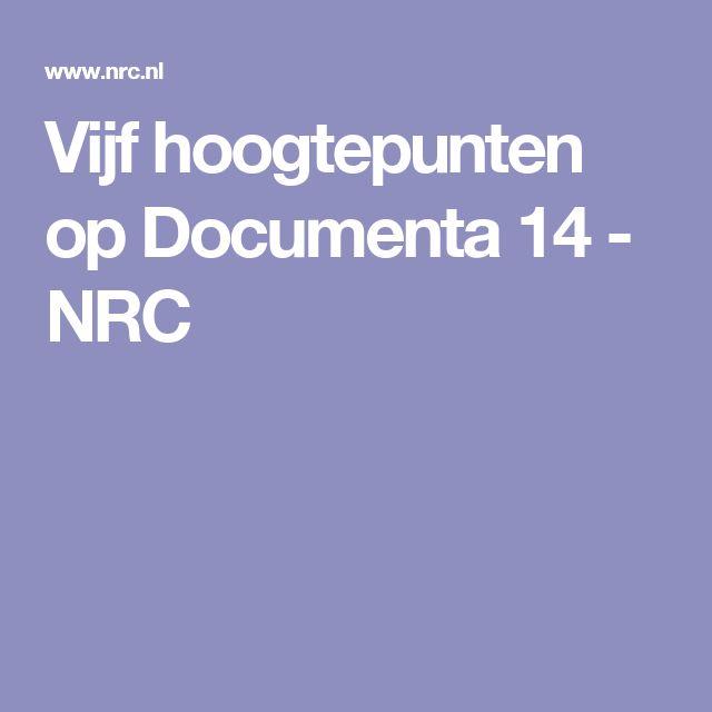 Vijf hoogtepunten op Documenta 14 - NRC