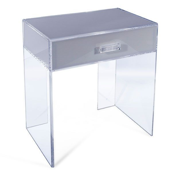 Acrylic nightstand decoist.com plexi-craft