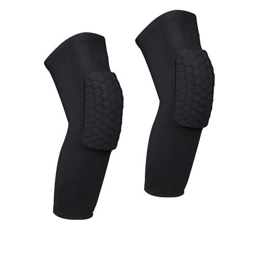 AceList 2 Packs (1 Pair) Protective Compression Wear - Men & Women Basketball Brace Support - Best to Immobilize, Strap & Wrap Knee for Volleyball, Football, Contact Sports - http://mountain-bike-review.net/products-recommended-accessories/acelist-2-packs-1-pair-protective-compression-wear-men-women-basketball-brace-support-best-to-immobilize-strap-wrap-knee-for-volleyball-football-contact-sports/ #mountainbike #mountain biking