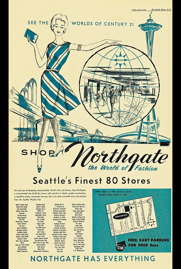 nordstrom and northgate mentioned in the world's fair handbook 1962 ...