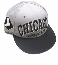 Chicago White Sox Gray Black Baseball Cap MLB Hat OSFA by New Era