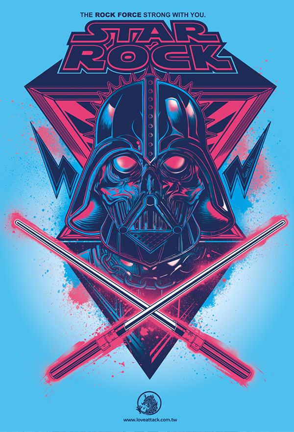 STAR ROCKER by Sean Wei, via Behance