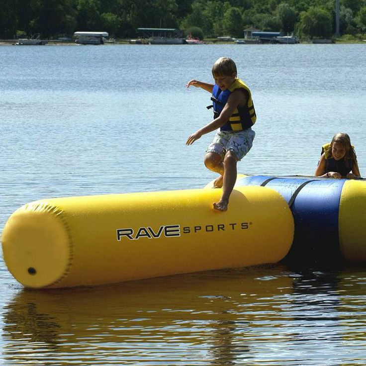 Rave Lake Ocean River Water Sports Small Aqua Log Trampoline Attachment | Sporting Goods, Water Sports, Other Water Sports | eBay!