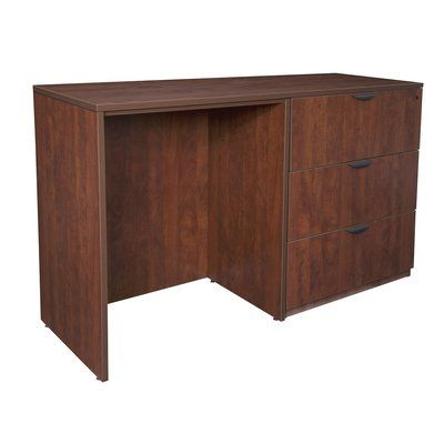Latitude Run Linh Standing Desk | Storage, Stand up desk, Desk
