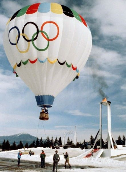413 best olympic images on pinterest olympic games for Air balloon games