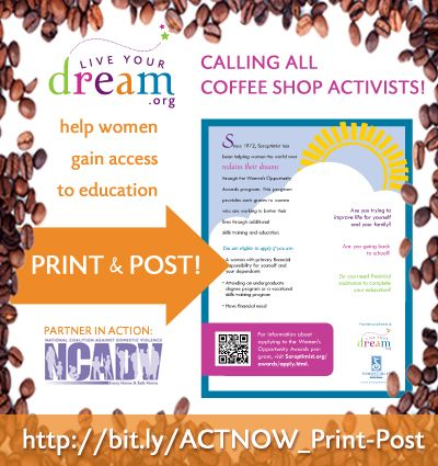 ACTION ALERT: Print & post our flyer in your local coffee ...