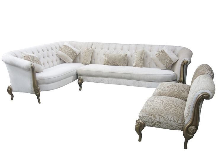 For L Shape Sofa With 2 Chair More Information Please Visit Http