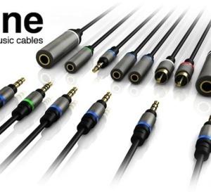 Un jeu de câbles complet dédié à l'audio pour iPhone et iPad