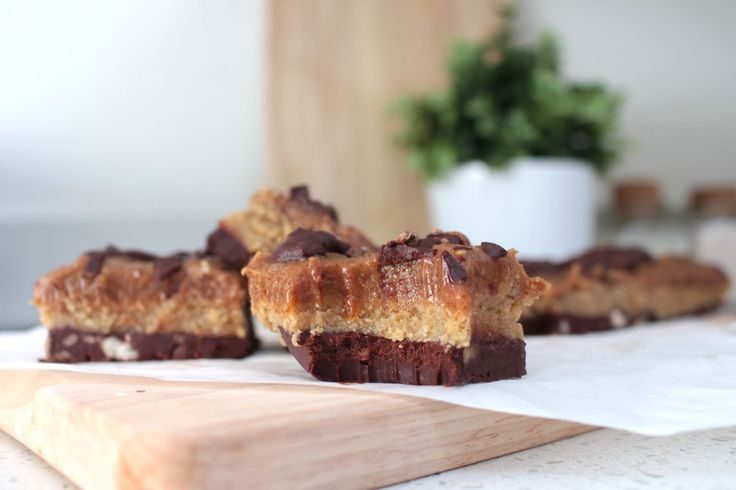 Chocolate Hazelnut Slice - Livia's KitchenLivia's Kitchen