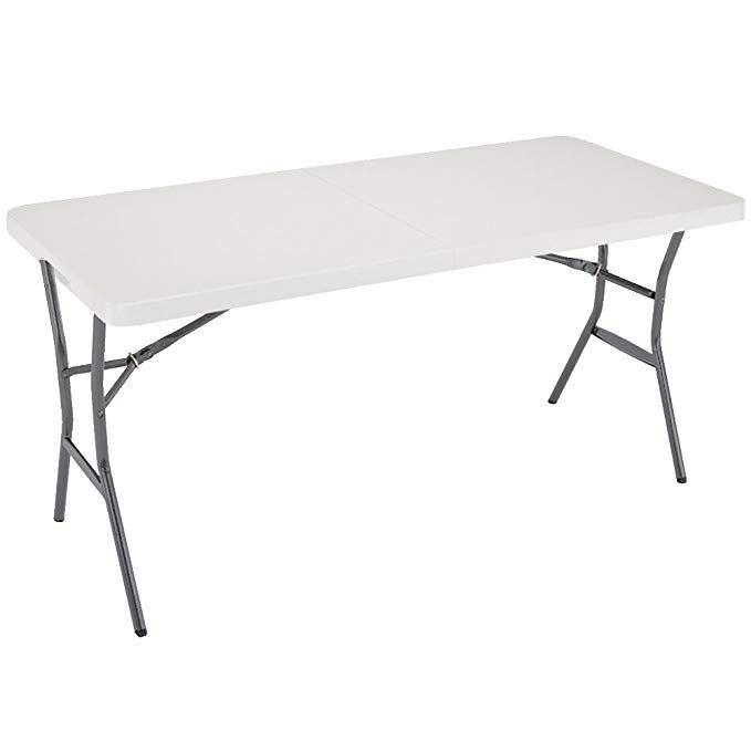 Lifetime 5 Foot Folding Table Pearl Review Folding Table Table Indoor Outdoor Furniture