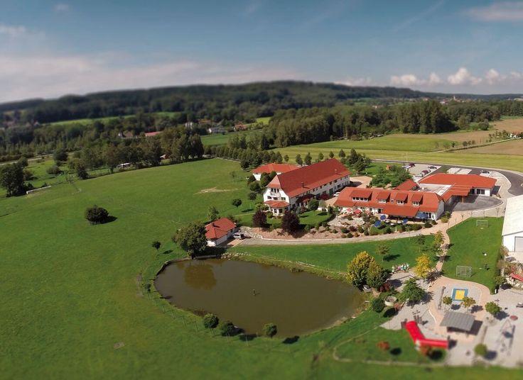 Bauernhofurlaub BodenseeTiergarten Luftbild