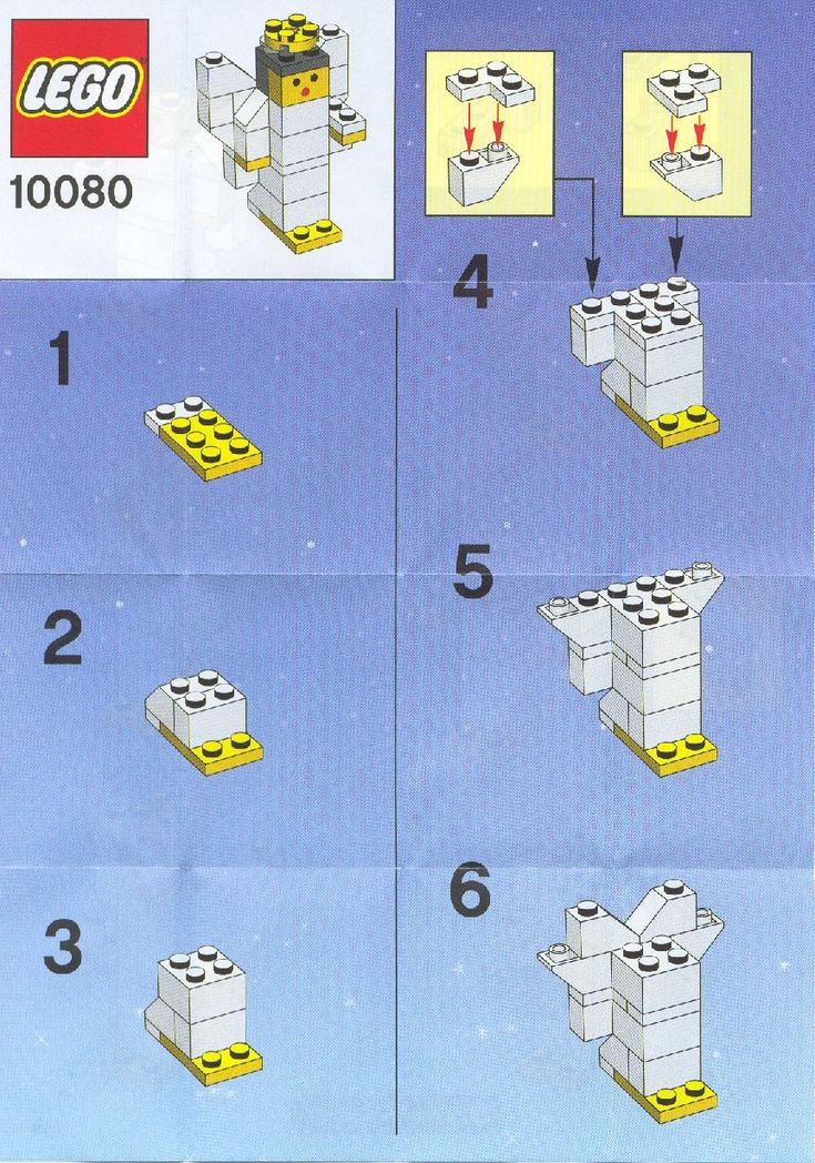 Angel [Lego 10080] instructions More