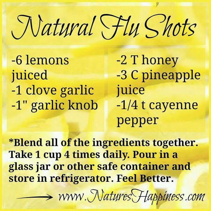 Natural Flu blend
