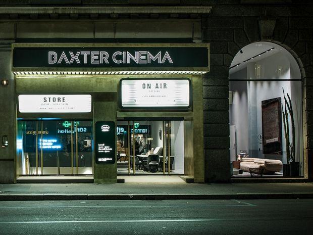 Nella Milano da bere, dove una volta c'era il cinema President, il nuovo club-bar e concept-store di Baxter