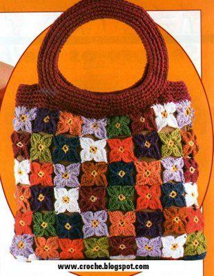 Manualidades bolsas tejidas - Imagui