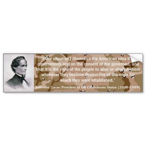 jefferson davis quotes civil war