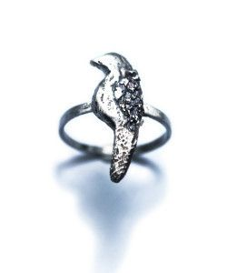 Little Bird Told Me Ring - Rex Royale - Wellington and New Zealand designer fashion clothing jewellery art women's cuba st boutique. Sterling silver ring.