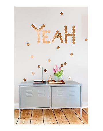 kupferkonfetti von stefanie luxat blog ohhh mhhh bei bertine products i love pinterest blog. Black Bedroom Furniture Sets. Home Design Ideas