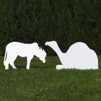 silhouette-outdoor-nativity-set-white-camel-donkey
