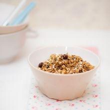Receitas na Rede - Granola de café Expresso e Chocolate... e mais uma receita de granola