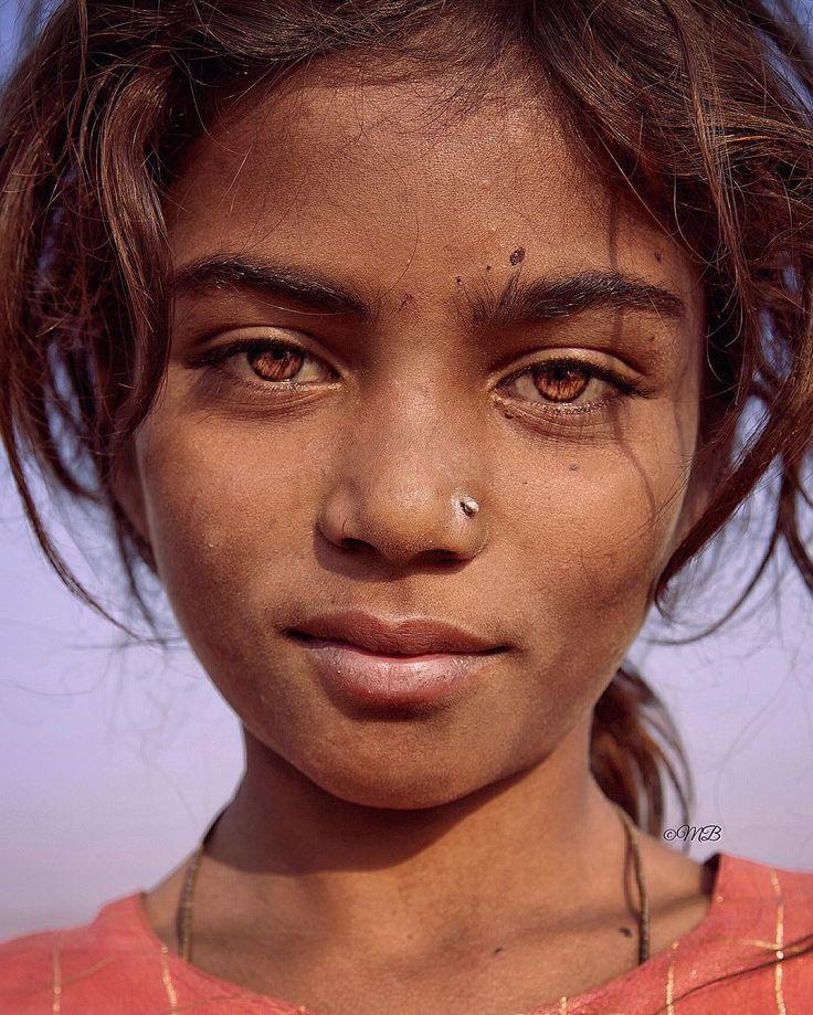 Portrait of a beautiful Kalbelia gypsy taken during Pushkar camel fair. ======================================= Rajasthan India November 2014. ======================================= Magdalena Bagrianow Photography ======================================= by 9magdalena9