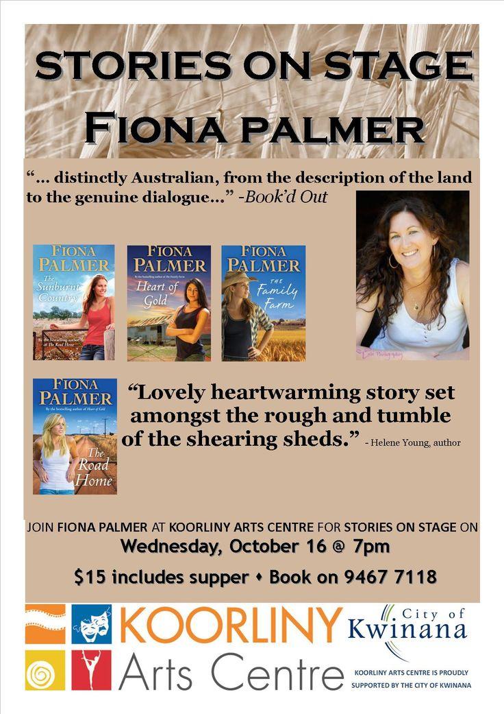 Fiona Palmer, Oct 16