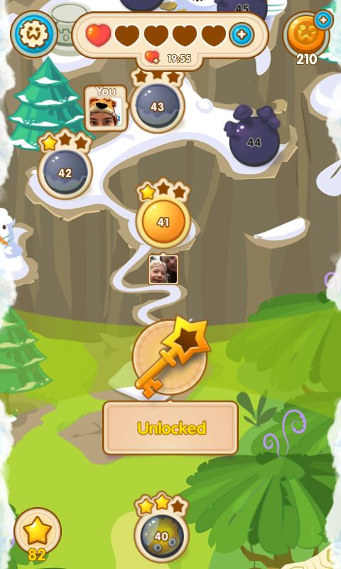 Jelly Splash by Wooga - Map Screen - Match 3 Game - iOS Game - Android Game - UI - Game Interface - Game HUD - Game Art