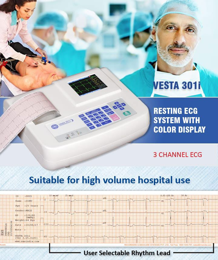 Rms Is Leading Manufacturer Of Cardiology Equipments Like Tele Ecg Ecg Machines In India We Have Complete Range Of Ekg Machi Led Manufacturers Cardiology Ekg