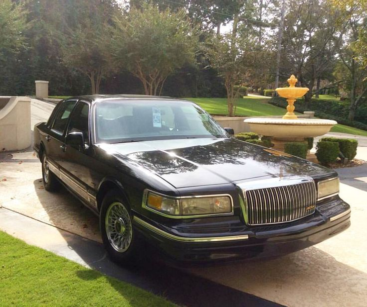 1997 Lincoln Town Car Executive Series: 9 Best Lincoln 1990-1997 Images On Pinterest