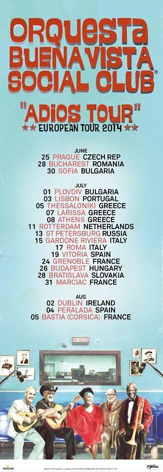 CUBA TOUR EUROPEO 2014