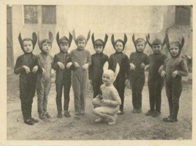 Vintage Rabbit Children by hollywoodgorillamen.com, via Flickr
