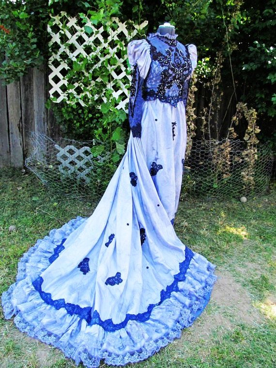 27 best images about 2014 halloween wedding dress on for Corpse bride wedding dress for sale