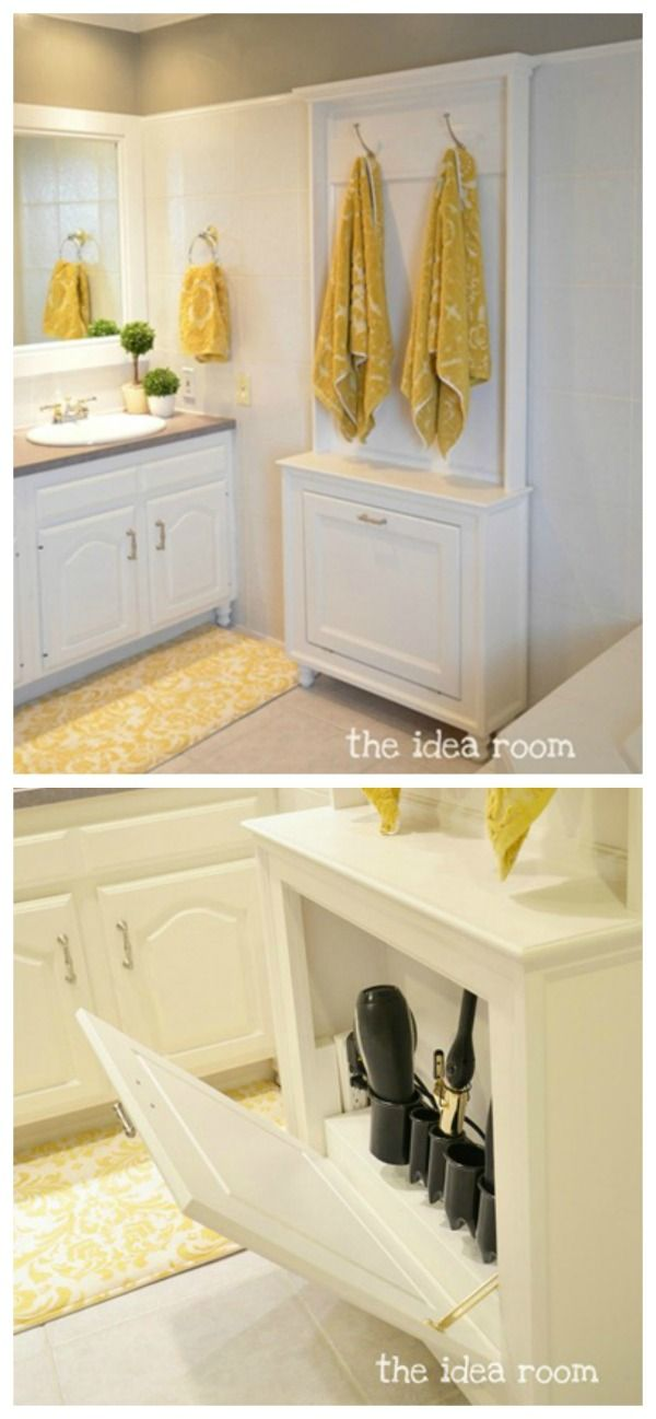 1000 ideas about small space bathroom on pinterest - Bathroom storage ideas small spaces ...