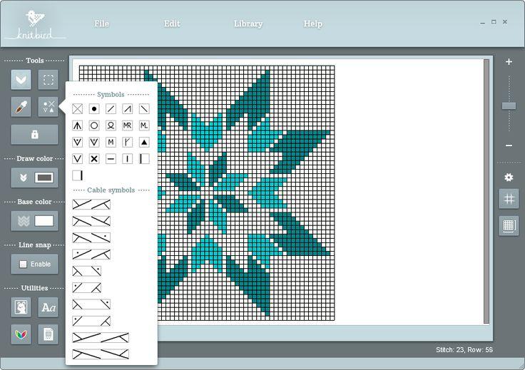 Knitting Pattern Design Software : Best knitting software images on pinterest