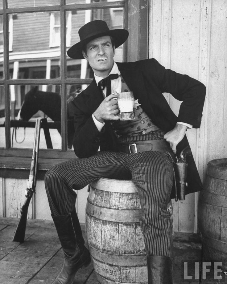 Hugh O'Brian as Wyatt Earp 1956, western                                                                                                                                                                                 More