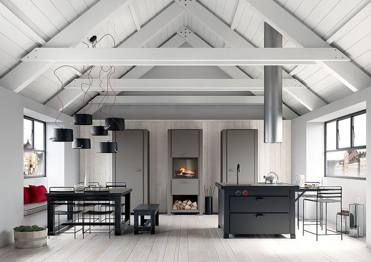 Location:In the inner city of Stockholm is located an original attic which is part of a small apartment arranged on two levels. It has as its owner a design enthusiast bachelor, which has decided to arrange the night area in the lower floor and the...