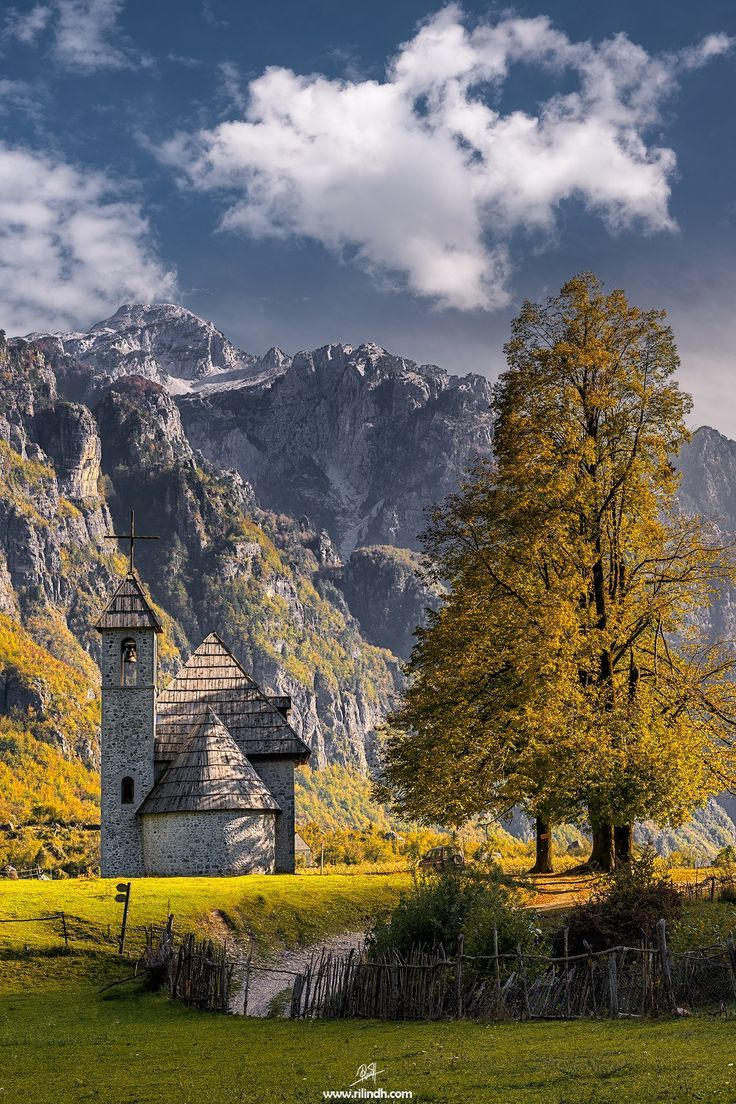 Church in Theth, Albania, built 1892, by Rilind H on 500px ♠ re-pinned by http://www.waterfront-properties.com/