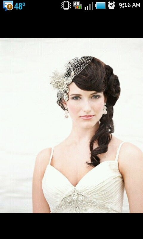 Bird cage veil - I am completely and utter in love with this!!! <3