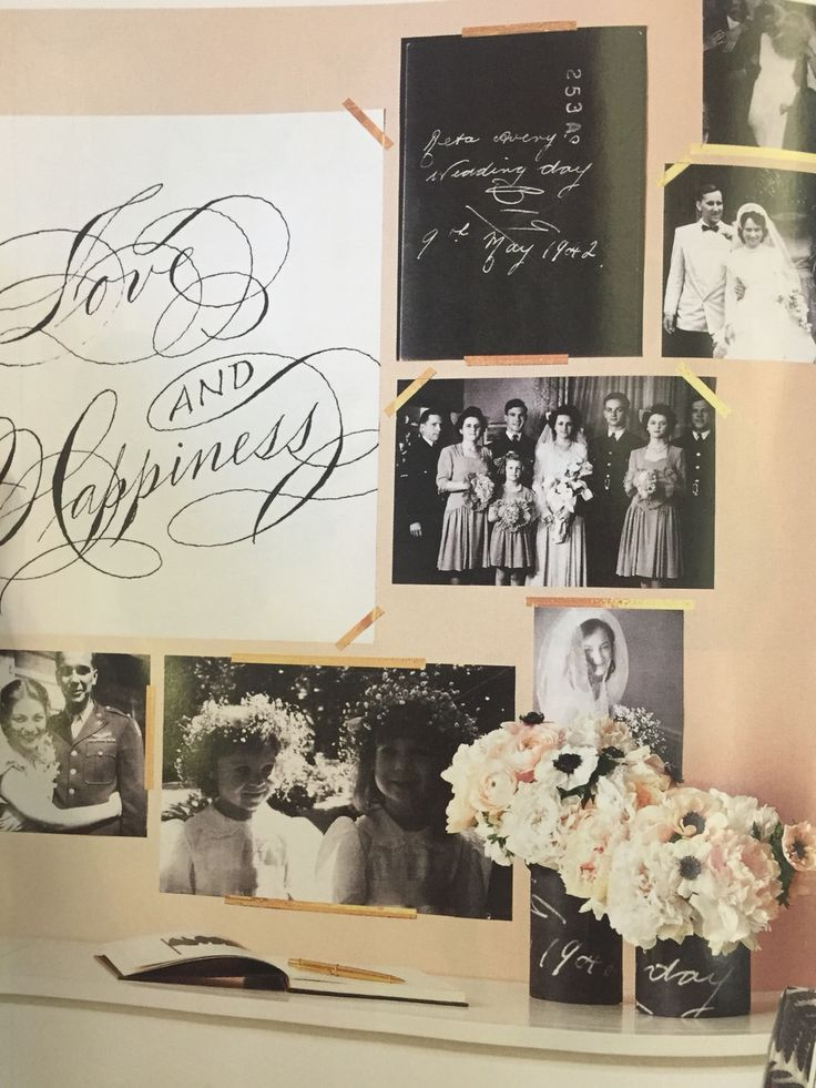 Pics and guest book area