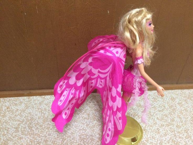 "Muñeca Barbie Mermaidia Fairytopia Elina Hadas Para Sirena 18"" ala raíz de pestañas"
