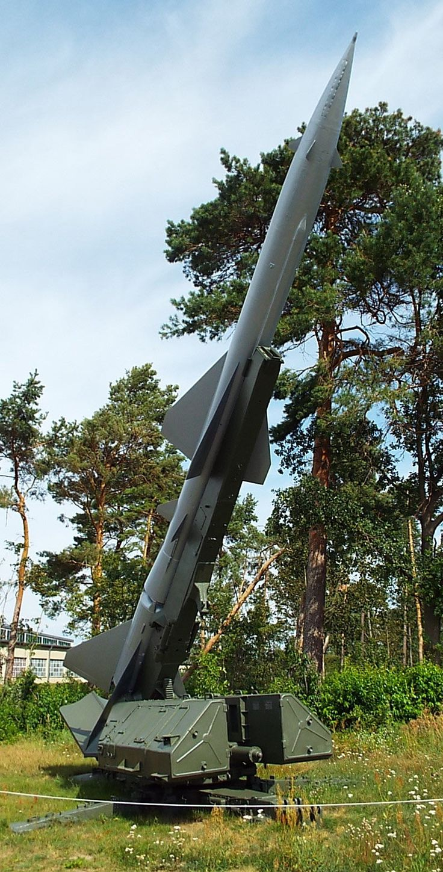Soviet Rocket S-75 'Dwina' 1958 Luftwaffe Museum Gatow Berlin