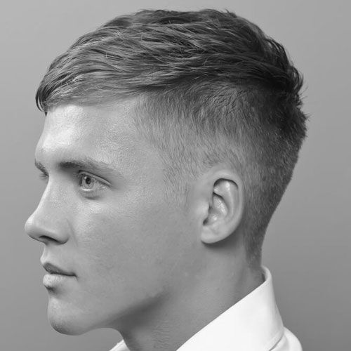 Classic Taper Fade with Textured French Crop