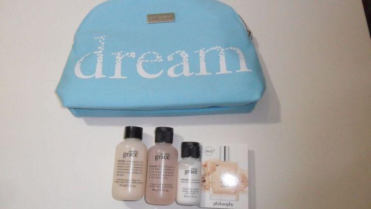 philosophy pure amazing grace shower gel body scrub emulsion nude rose Dream bag #Philosophy